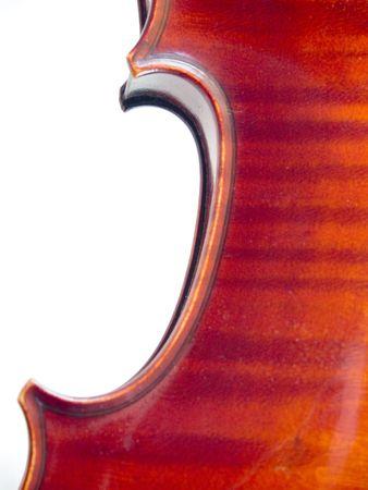 Violin Flame Detail