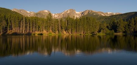 Rocky Mountain Morning - Rocky Mountain National Park
