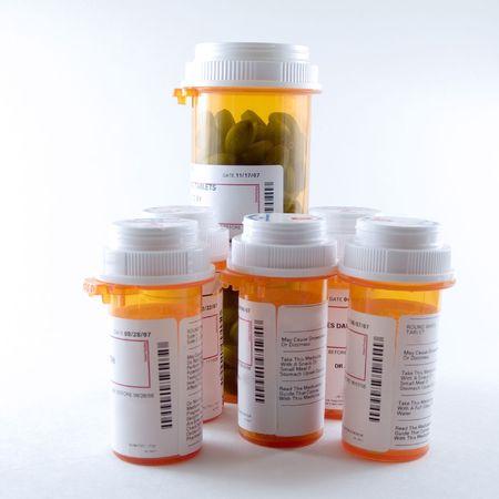 Pill Bottles Imagens