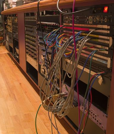 network switches in large recording studio