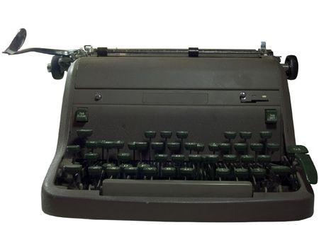Old Typewriter Reklamní fotografie