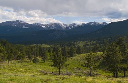 front range: The Front Range of the Rocky Mountains in Rocky Mountain National Park