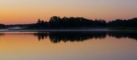 Daybreak at Fish Lake Minnesota