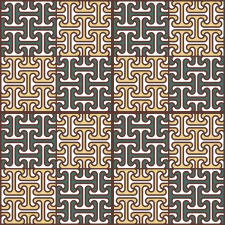 Abstract seamless pattern in Egyptian style Illustration