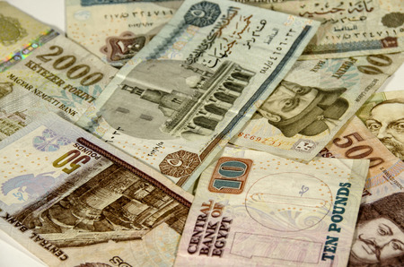 different countries: Money of different countries. Egypt, Hungary.