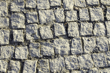 concretion: The texture of multicolored bricks. Close-up.