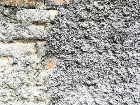 stucco: Gray stucco texture. Abstract.