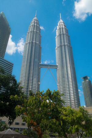 Petronas Towers w Kuala Lumpur, Malezja Zdjęcie Seryjne