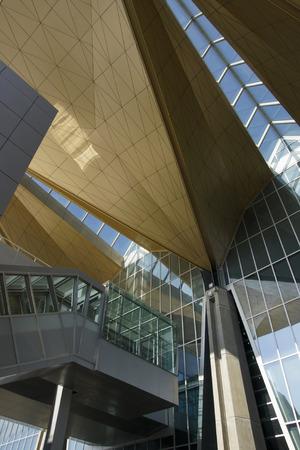perspectiva lineal: San Petrburg. Aeropuerto.