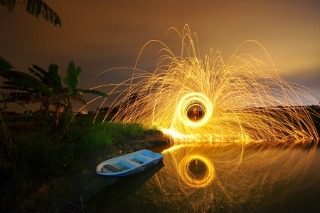 steel wool stock photo awesome reclection photo