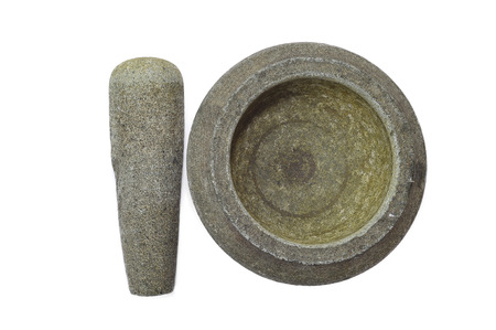 pestel: A Traditional Malay stone mortar use for crushing onions and chilies