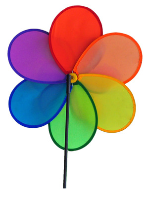 Colourful fan for kids photo