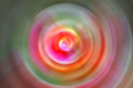 Abstract Background Of Spin Circle Radial Motion Blur