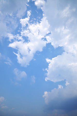 cirrus: Clouds And Blue Sky For Background Stock Photo