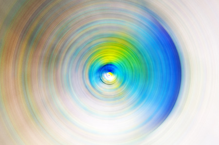 Abstract Background Of Spin Circle Radial Motion Blur photo