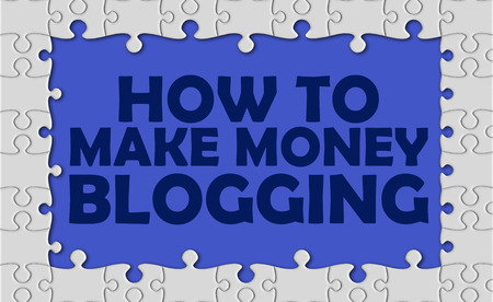 adwords: how to make money blogging with jigsaw border.