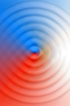 spin: The Abstract Background Of Spin Circle Radial Motion Blur Stock Photo