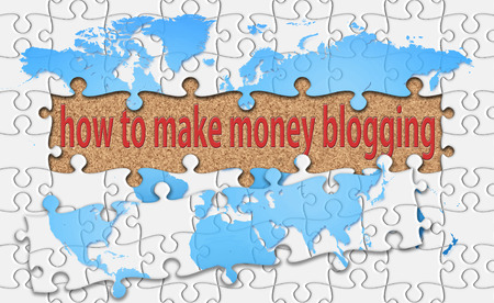 holiday profits: how to make money blogging word with reveal jigsaw.