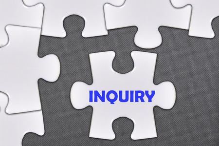 inquiry: The jigsaw puzzle written word inquiry