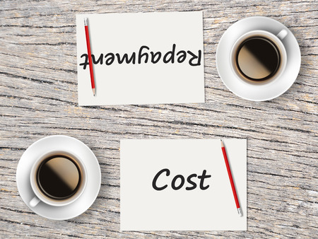 repayment: The Business Concept : Comparison between cost and repayment   .