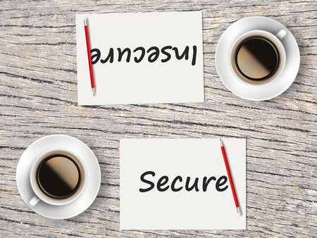 insecure: The Business Concept : Comparison between secure and insecure    .