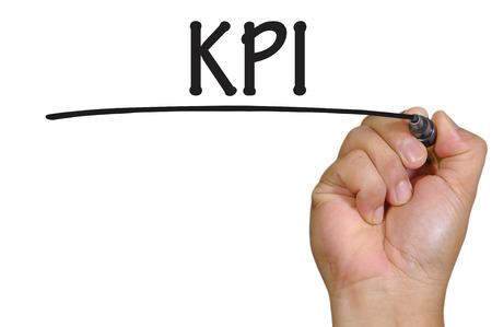 The hand writing kpi