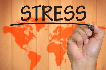 destress: The hand writing stress