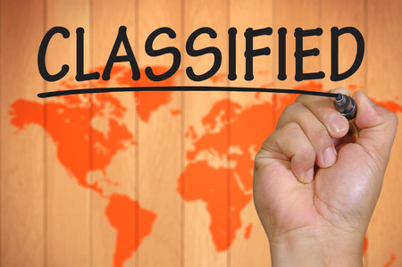 government services: The hand writing classified