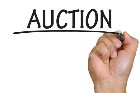 auctioneer: The hand writing auction