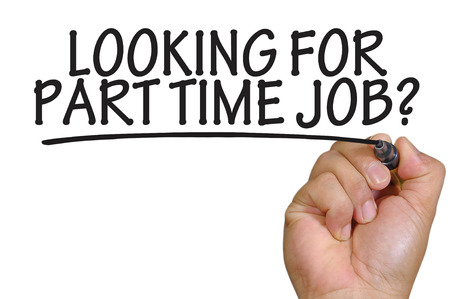 The hand writing looking for part time job