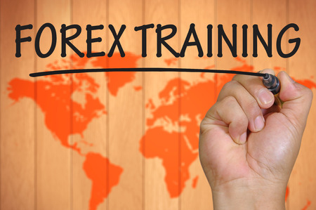forex: hand writing forex training .