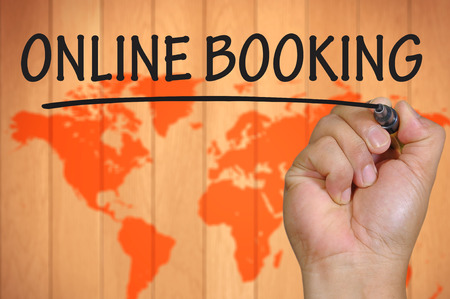 hand writing online booking  .
