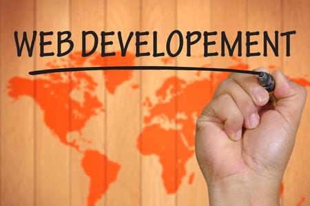 developement: hand writing web developement .