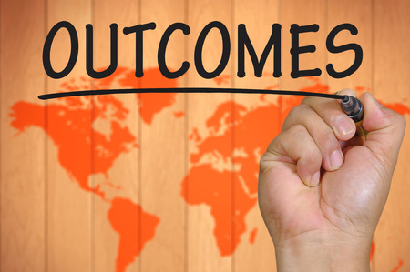 outcomes: The hand writing outcomes
