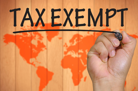 exempt: The hand writing tax exempt