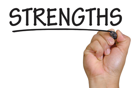 The hand writing strengths
