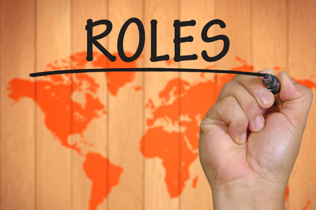 roles: The hand writing roles
