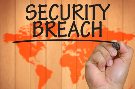 security breach: The hand writing security breach