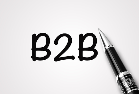 pen writes Business to business (B2B)