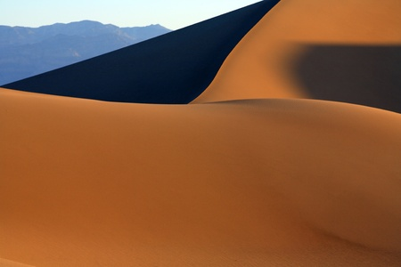 Death Valley is a desert valley located in Eastern California. photo