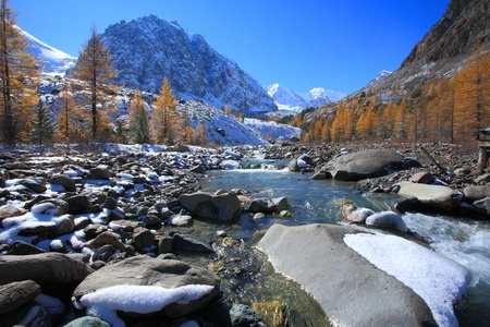 The Altai Mountains photo