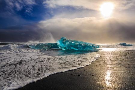 アイスランド自然 写真素材
