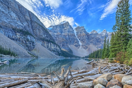 banff national park: Moraine Lake, Banff National Park, Alberta, Canada