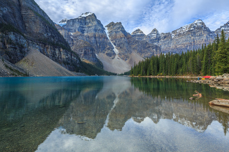 Moraine Lake, Banff National Park, Alberta, Canada photo