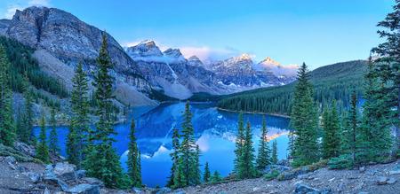 Moraine Lake, Banff National Park, Alberta, Kanada
