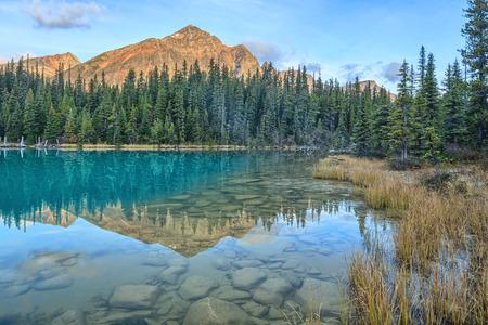 edith: Cavell Edith Lake, Canadian Rockis, Alberta, Canada