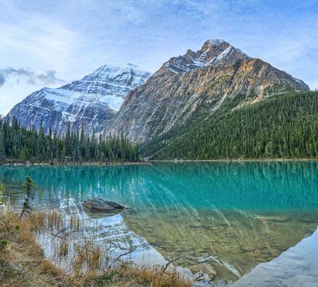 Cavell Edith Lake, Canadian Rockis, Alberta, Canada