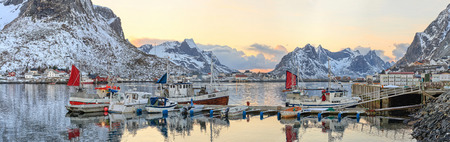 fishing towns in norway Editorial
