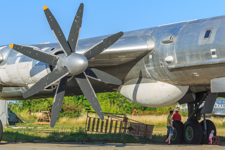 soviet: The State Aviation Museum of Ukraine Zhuliany, old Soviet planes