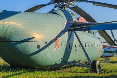 The State Aviation Museum of Ukraine Zhuliany, old Soviet planes